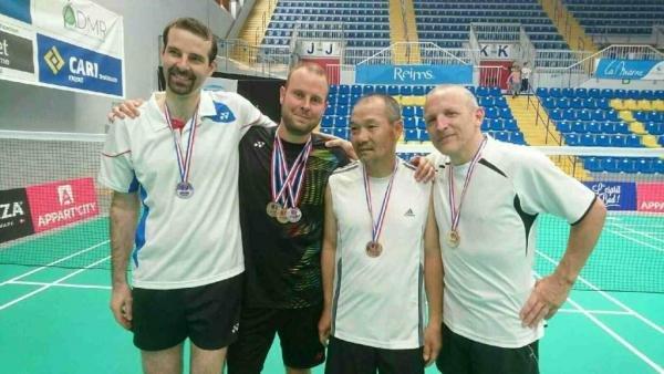 24 Patrick, Julien, Tuyen Et Alex Médaillés