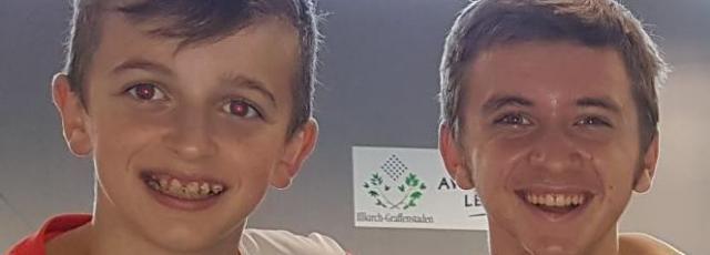 Titouan Emond et Arnaud Dubois au tournoi d'Ostwald