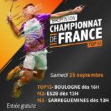 Championnat de France 2021-2022 - J01 - 25 Septembre